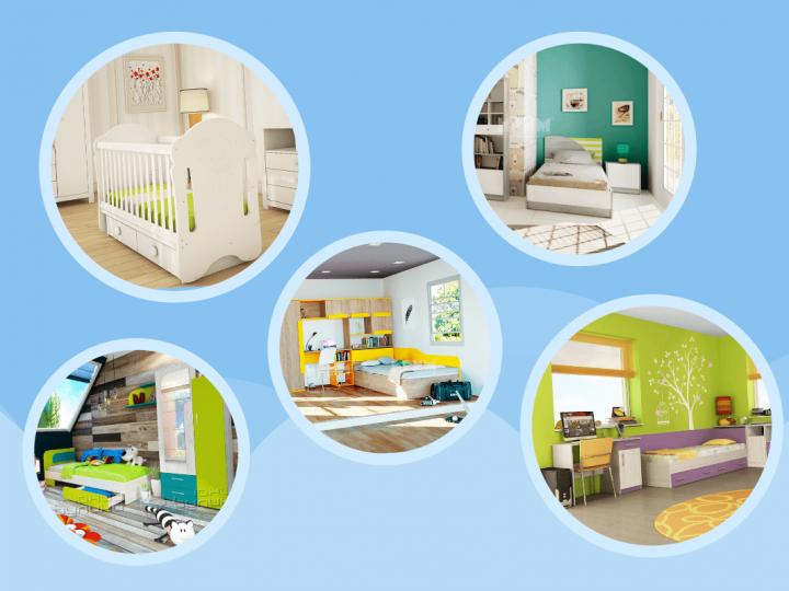 Избери си Мечта с детските стаи от Мебио